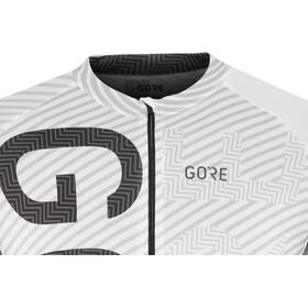 GORE WEAR C3 Brand Jersey Herren white/black